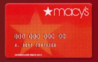 Macy's credit card coupons