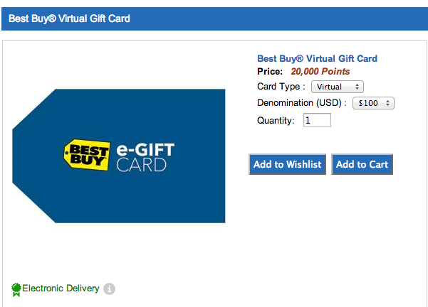 Navy Federal Best Buy Award Card