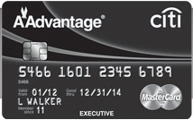 Citi Executive American Airlines AAdvantage Card