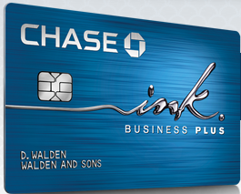 chase ink plus credit card