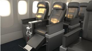 AA premium economy seats
